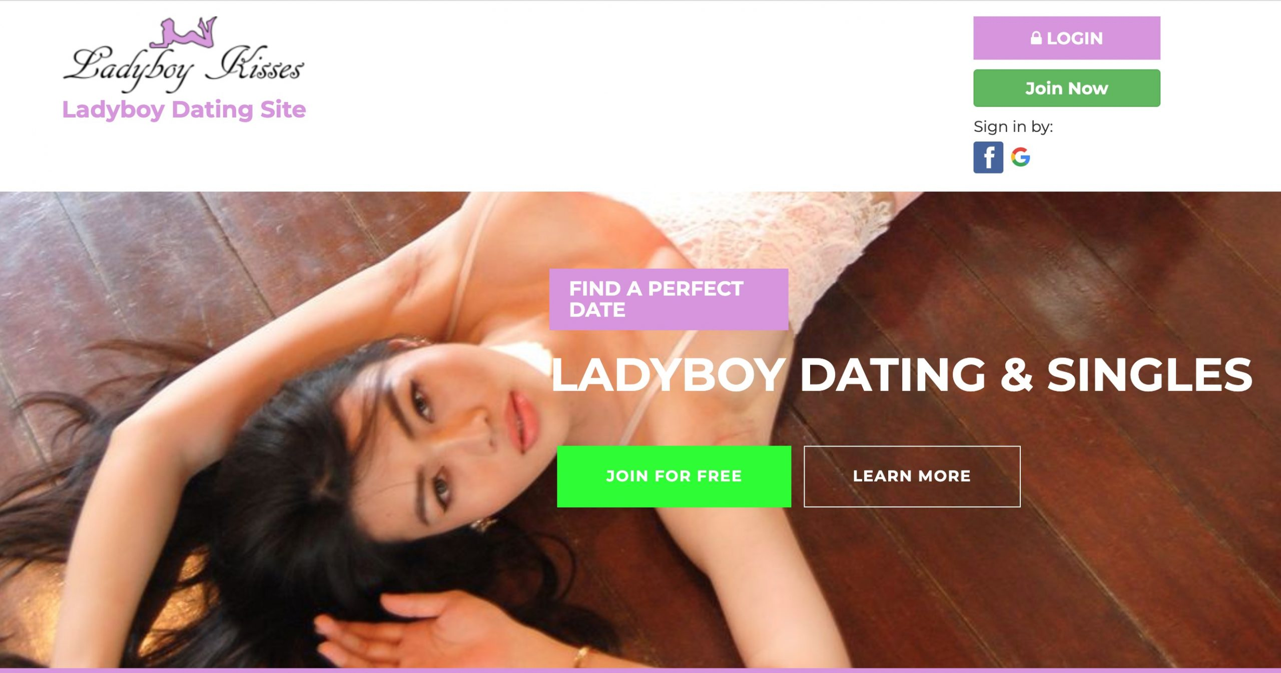 LadyBoyKisses main page